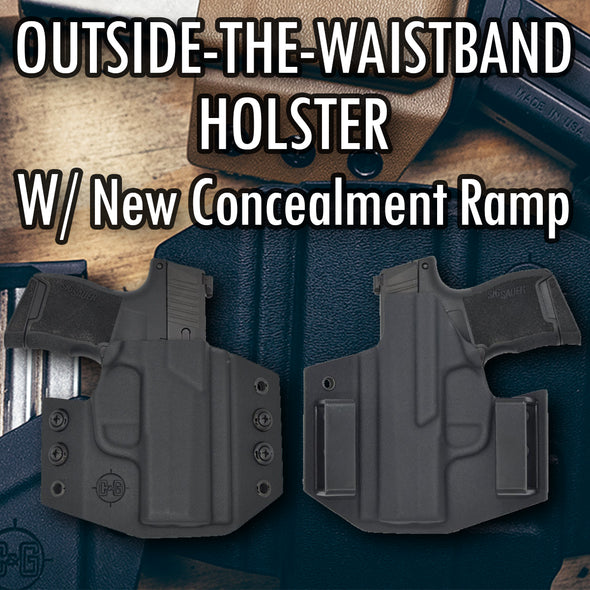 Outside the Waist Band Kydex Gun Holster