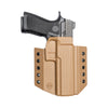 C&G Holsters custom Covert IWB kydex holster for Sig P320 full size in coyote brown Also fits X5 and M17