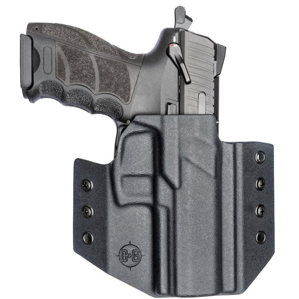 C&G Holsters OWB Outside the waistband Holster for the Heckler & Koch P30 Front With Gun