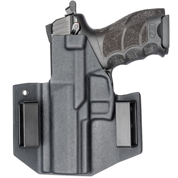 C&G Holsters OWB Outside the waistband Holster for the Heckler & Koch P30 Rear With Gun