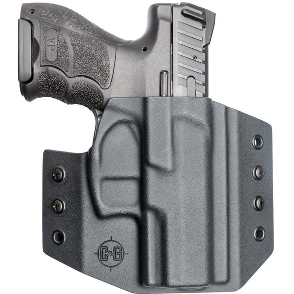C&G Holsters OWB Outside the waistband Holster for the V&K VP9SK with gun front