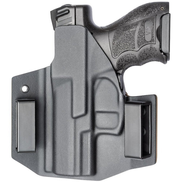 C&G Holsters OWB Outside the waistband Holster for the V&K VP9SK with gun rear