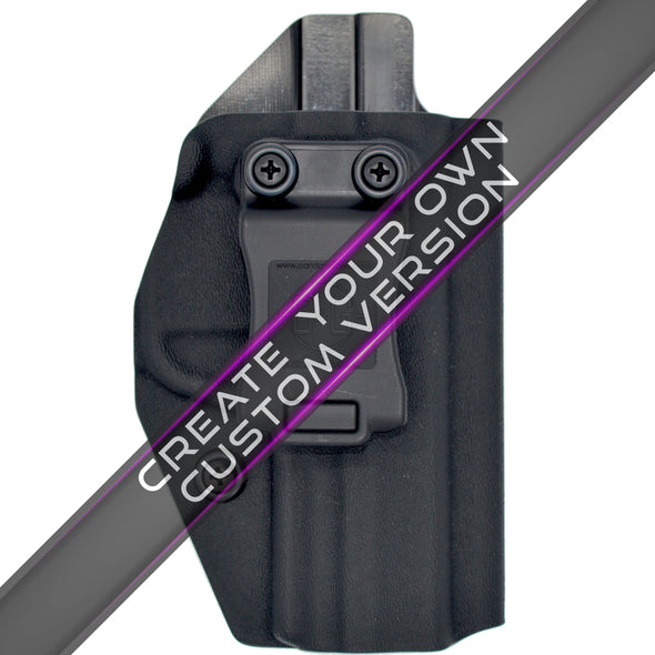 "S&W M&Pc (Compact) 2.0 4"" IWB Covert Kydex Holster - Custom"