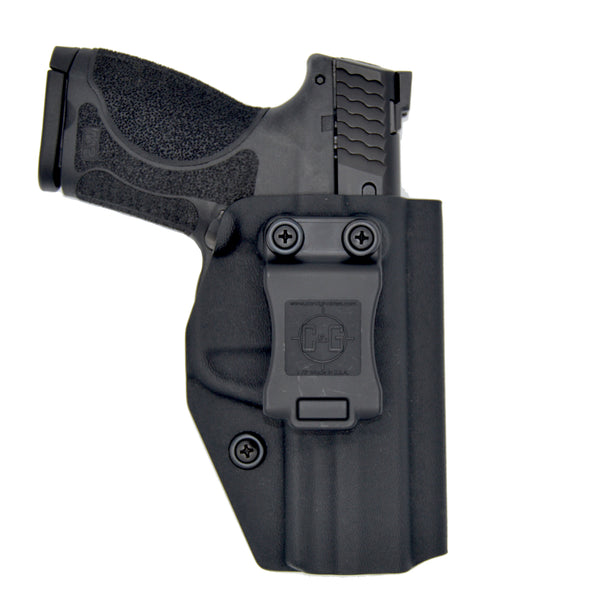C&G Holsters Covert inside the waistband kydex holster for Smith & Wesson M&P 9 compact in black