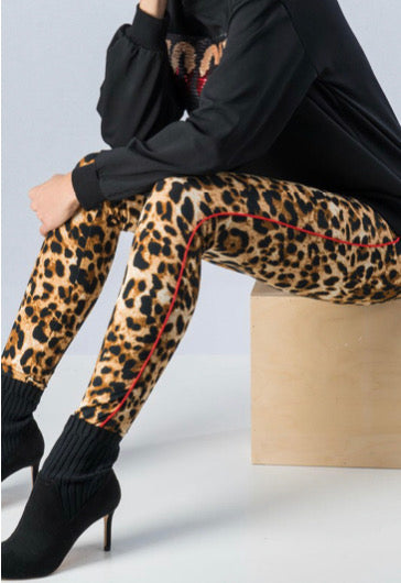 Leopard print leggings | Cheeky Cactus