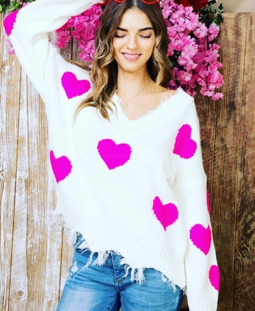 Sweetheart Sweater | Cheeky Cactus