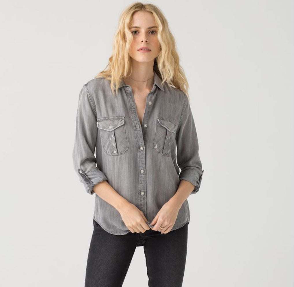 Thread & Supply Katana Denim button up Shirt | Cheeky Cactus