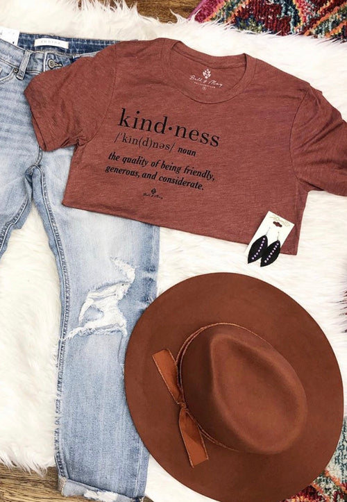 Kindness Tri-blend Shirt | Cheeky Cactus