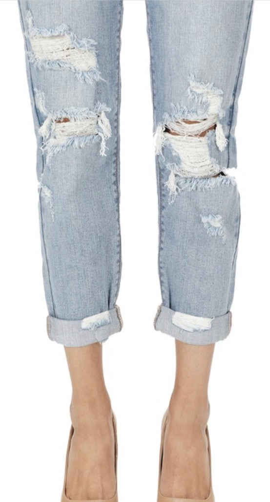 Frankie Low Rise Girlfriend Jeans | Cheeky Cactus