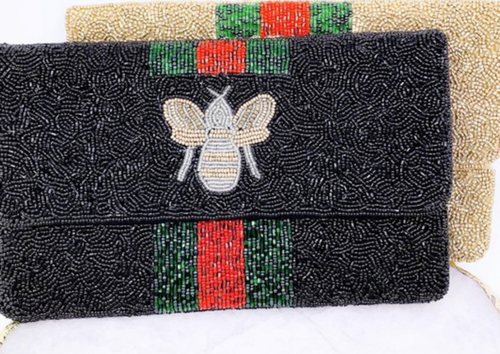 Designer inspired dupe beaded clutch | Cheeky Cactus