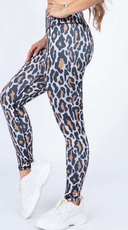 Cheeky Fit Leopard Leggings - Cheeky Cactus