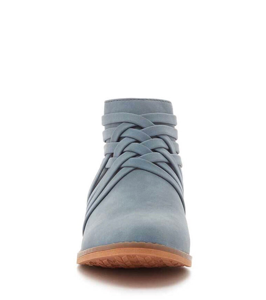 Ankle Bootie Light Blue or Black | Cheeky Cactus