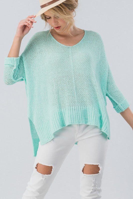 Casual Over-sized Casual Light-weight Sweater | Cheeky Cactus