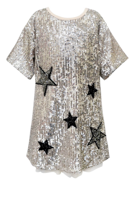 Hannah Banana Gold sequin dress. | Cheeky Cactus
