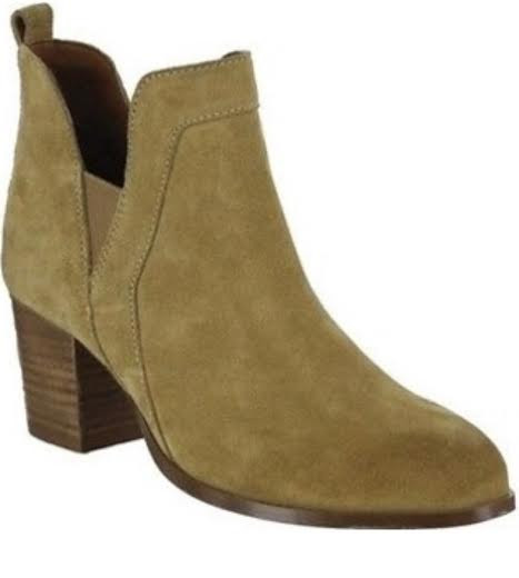 Mia Kastro Camel Suede Ankle Boot | Cheeky Cactus