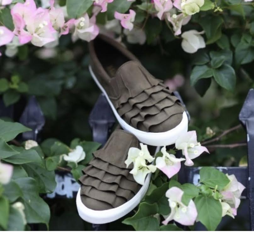 Mia Margaret Suede Taupe Sneaker | Cheeky Cactus