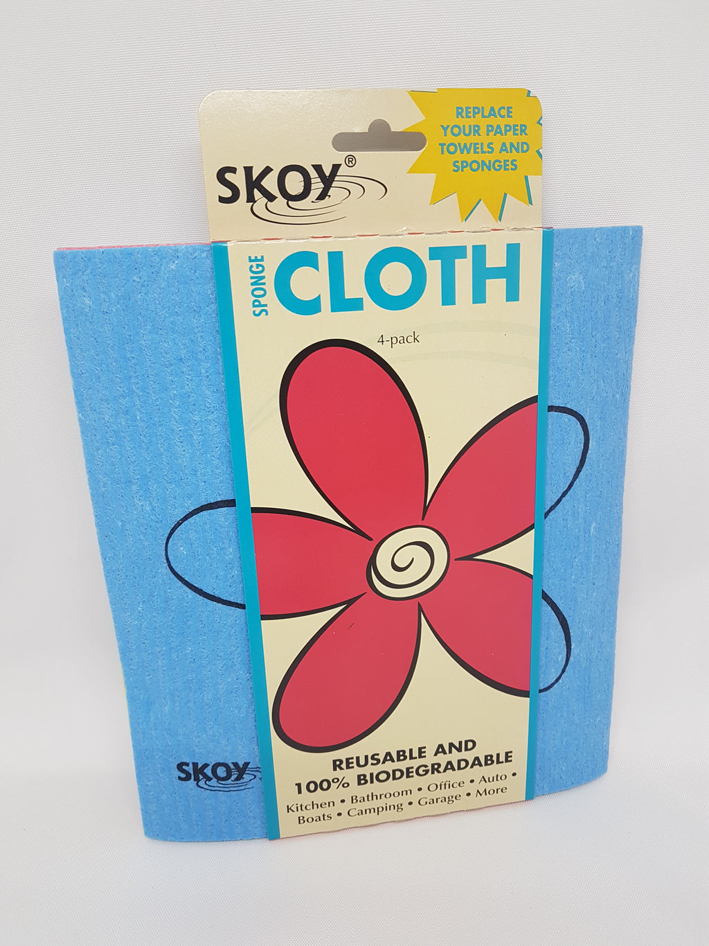 Skoy Sponge Cloth - Pack of 4