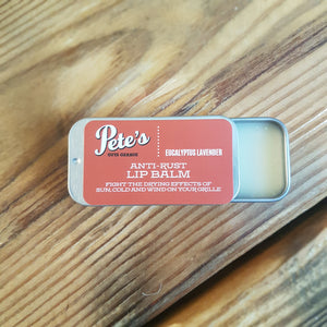 Pete's Anti Rust Lip Balm