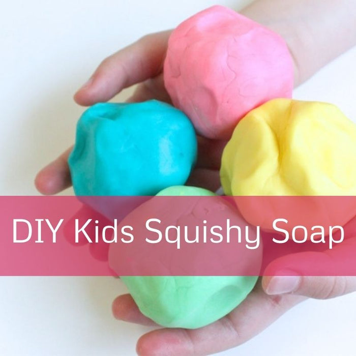 Kids DIY Squishy Soap