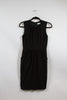 Carmen Marc Valvo Black Tank Dress with Pockets Size 4