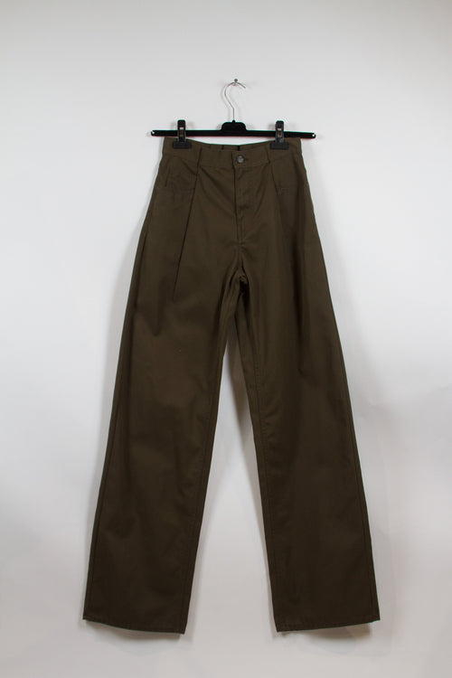 Screenbid Media Company, LLC. - Maison Margiela Army Green Cargo Pants Size 42 (EU)