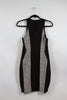 Rag & Bone Black and White Textured Bodycon Dress Size 2
