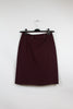 Apostrophe Burgundy Pencil Skirt Size 6