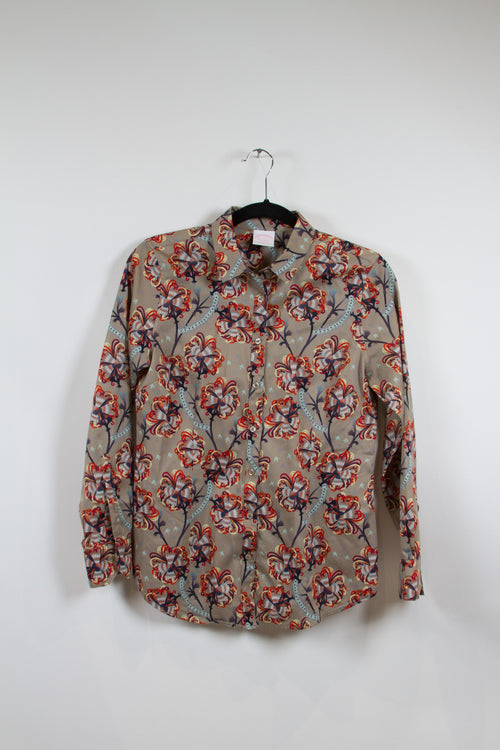 Screenbid Media Company, LLC. - Brooks Brothers Paisley Printed Buttonup Size 6