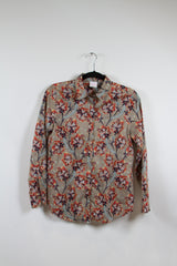 Brooks Brothers Paisley Printed Buttonup Size 6