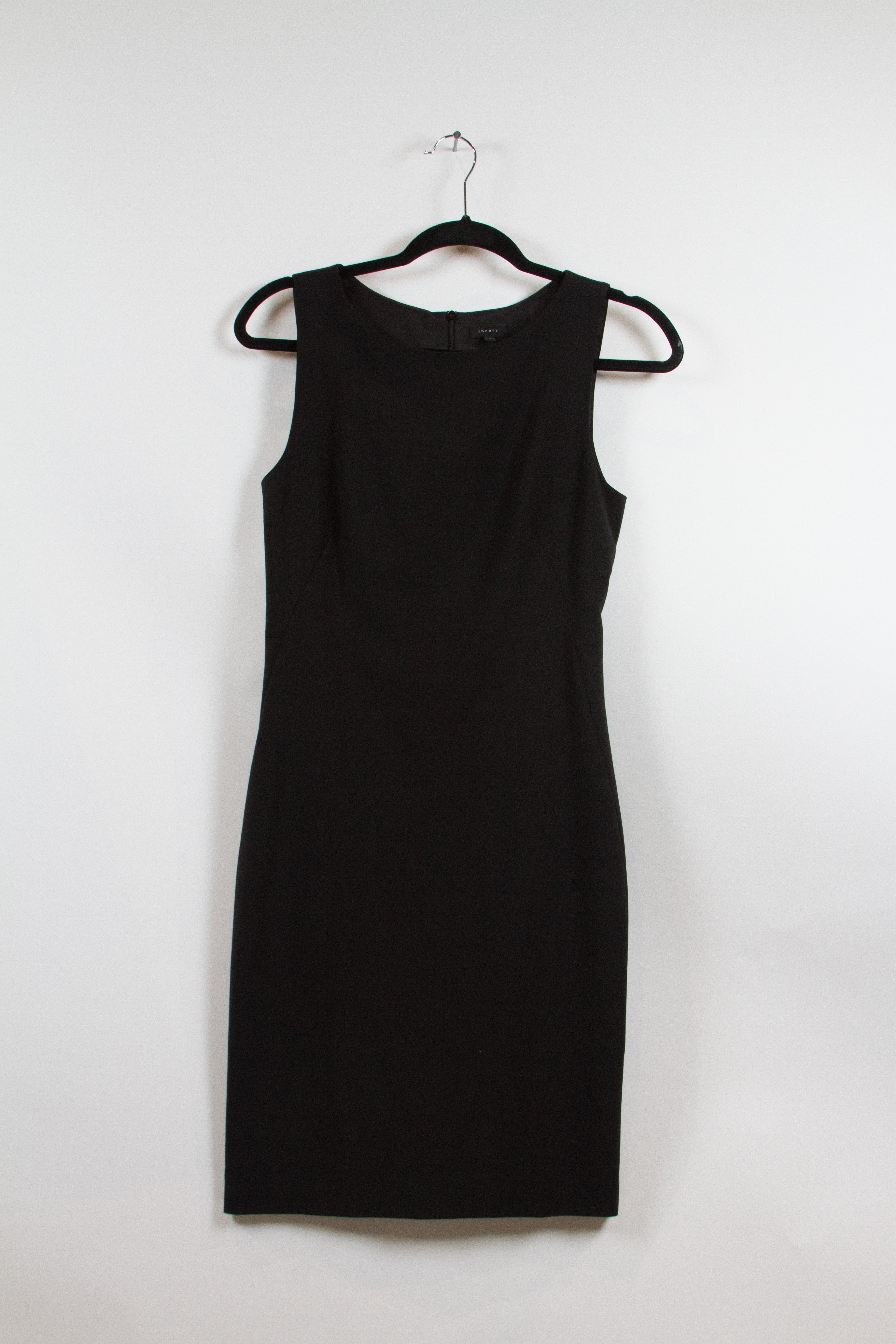 Theory Black Pencil Dress Size 4