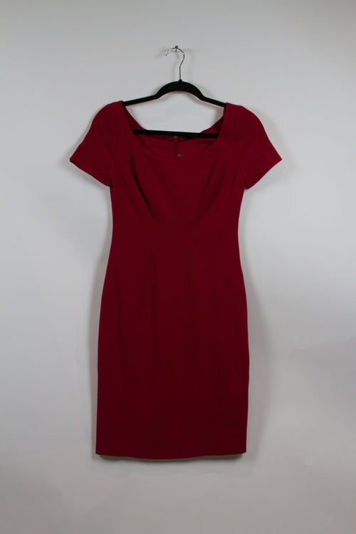 Screenbid Media Company, LLC. - Elie Tahari Crimson Bodycon Dress Size 2