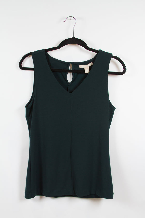 SONS OF ANARCHY: Wendy's Deep Green Tank Top Blouse-1