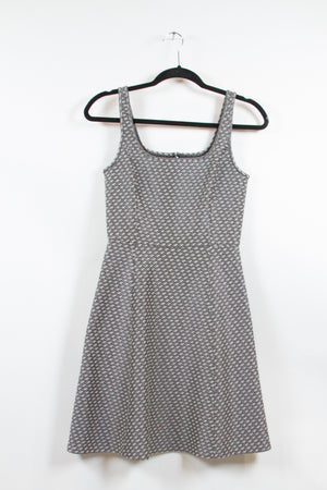 Screenbid Media Company, LLC. - Theory Houndstooth Patterned Dress Size 2