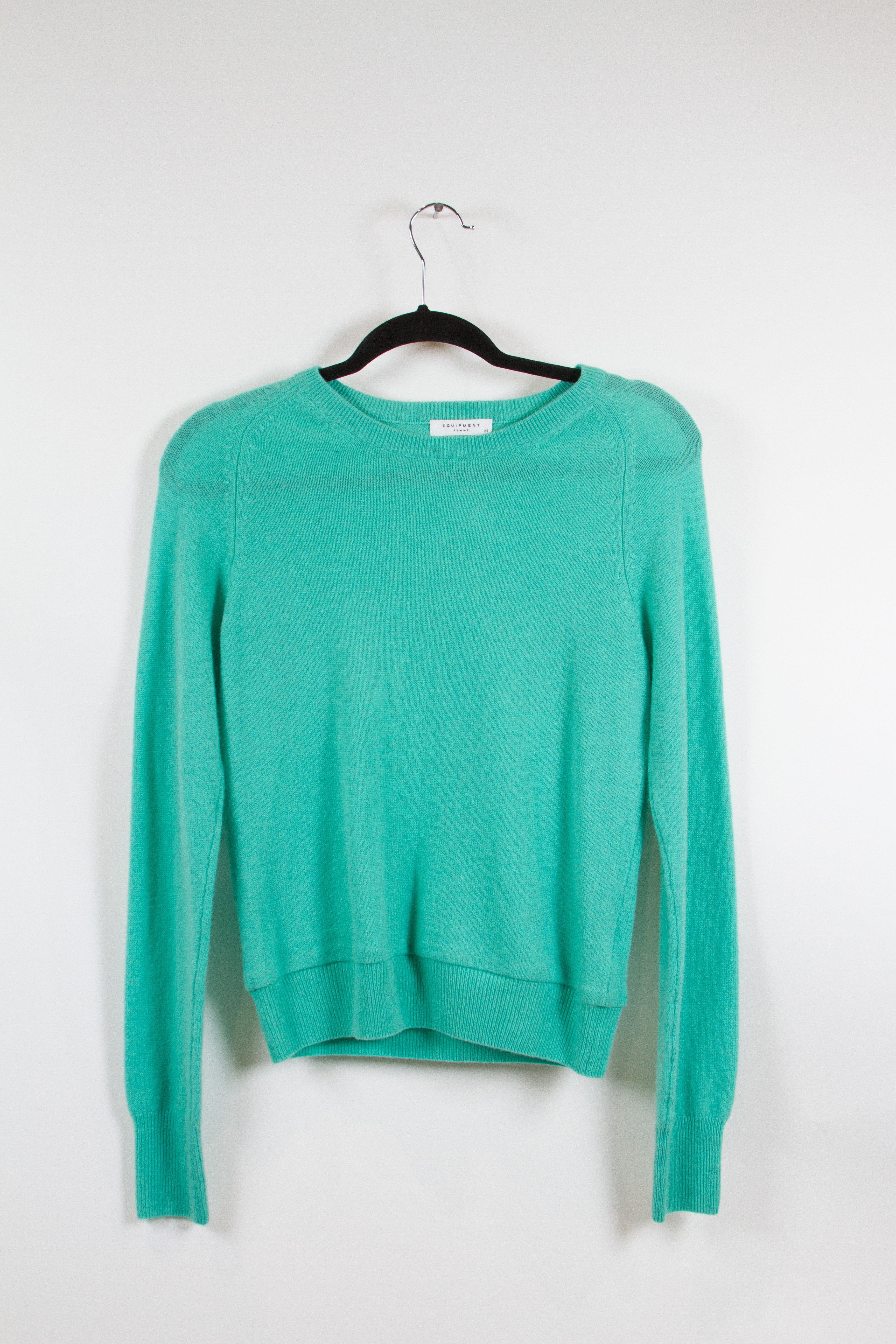 Equipment Femme Turquoise Sweater XS