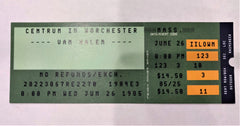 That's My Boy: Van Halen 1985 Ticket