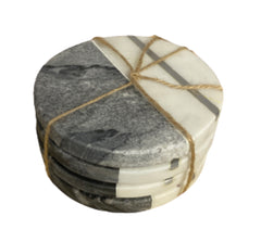SILICON VALLEY: Gavin Belson's Two-Toned Marble Coasters