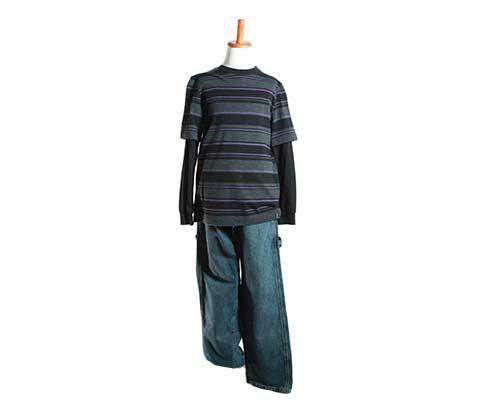 Young Hakeem's Outfit with Nike Shoes