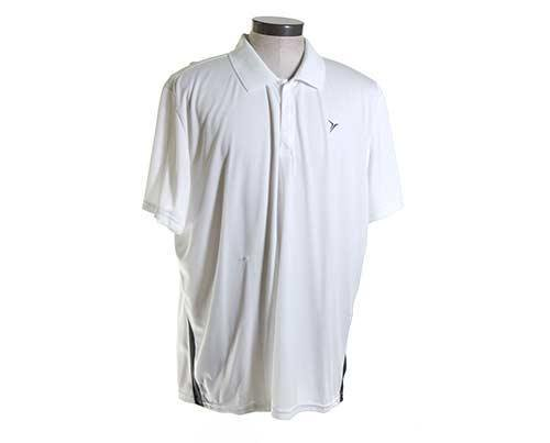 Bunkie's Stunt White Polo Shirt