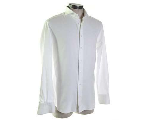 EMPIRE: Andre's White Royal Oxford Shirt-2