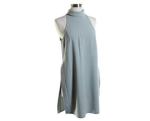 EMPIRE: Breana's Grey Dress-1