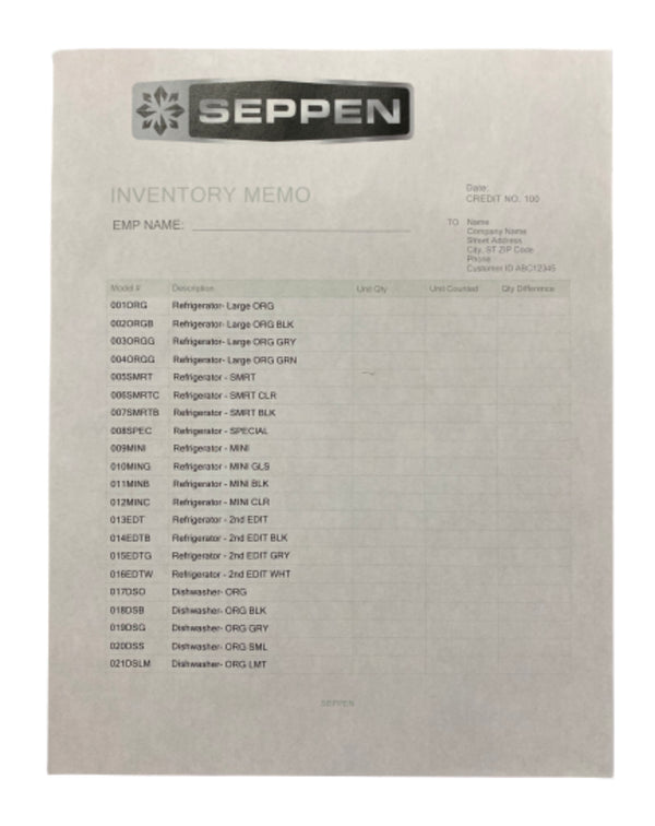 SILICON VALLEY: Seppen Inventory List-1