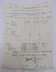 There Will Be Blood: Daniel's Metallurgical Assay Copy (Signed)