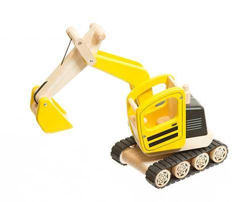 Smurfs 2 Yellow Digger In Box-1