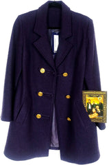 Cookie's Purple Wool Coat
