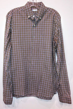 Screenbid Media Company, LLC. - Dr. Ken Check Shirt by Steven Alan (Sz S)