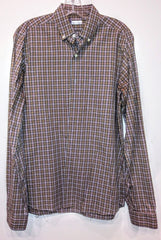 Dr. Ken Check Shirt by Steven Alan (Sz S)