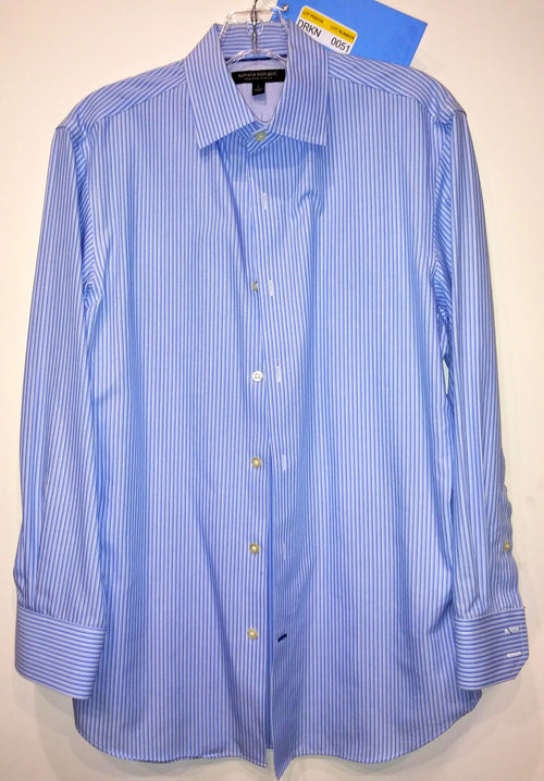Screenbid Media Company, LLC. - Dr. Ken White & Blue Shirt by Banana Republic (Sz S)