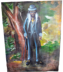 Scary Movie 2: Big Daddy Kane Painting-B