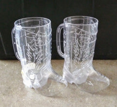 Dr. Ken: Dr. Ken Plastic Cowboy Boot Cup (Set of 2)