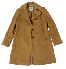 VEEP: Reporter Deb's Brown Coat By Larry Levine